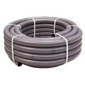 Tubo pvc flexible (rollos 25 m.) 20-25-32-40-50-63mm