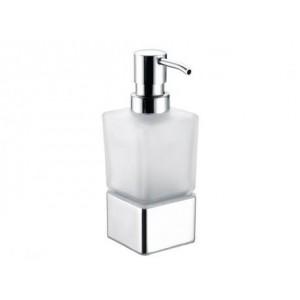 Dosificador jabón cuadrado en cristal