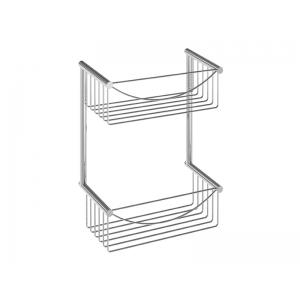 Jabonera rectangular doble lowcost AC -279  PYP