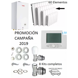 Kit calefacción hogar - Promoción 2019 - 24 Kw