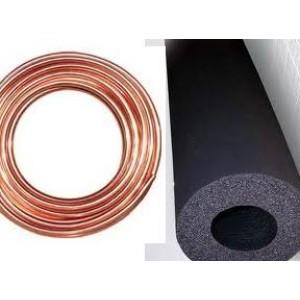 Kit placa solar (cobre rollos 50m 18) - ( Armaflex 18 x 19)