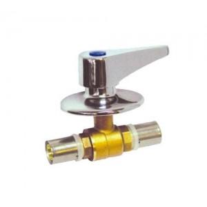 Llave paso empotrar multicapa-32mm
