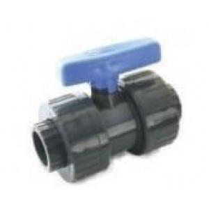 Valvula pvc h-hembra encolar desmontable D:20mm