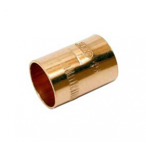 Manguito cobre soldar Ø22