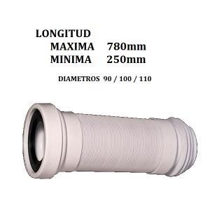 Conexión inodoro flexible Maxi McAlpine