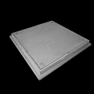 Tapa de registro hermética lisa modelo Cetus