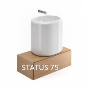 Mueble suspendido Status de 75 Unisan
