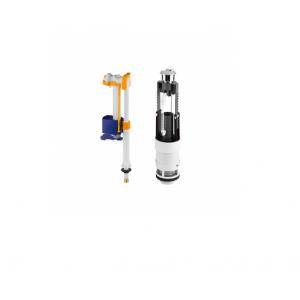 Recambio conjunto mecanismo cisterna doble descarga  (3/6L)  NAU Unisan