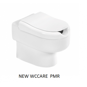 Inodoro PMR cisterna empotrada / alta s/Dual  Unisan
