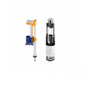 Recambio conjunto mecanismo cisterna doble descarga (3/6L)  NEWDAY Unisan