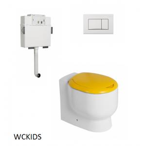 Conjunto Inodoro infantil cisterna empotrada Wckids Unisan