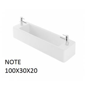 Lavabo Note sobre mueble  (1000x300) UNISAN