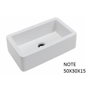 Lavabo Note sobre mueble (50x30X15) UNISAN