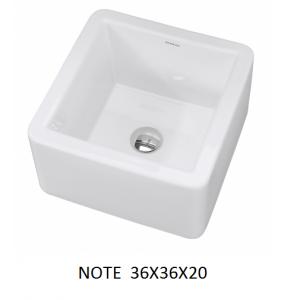 Lavabo Note sobre mueble (36x36x20) UNISAN