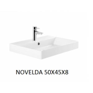 Lavabo Novelda sobre mueble  (50x45x8) UNISAN