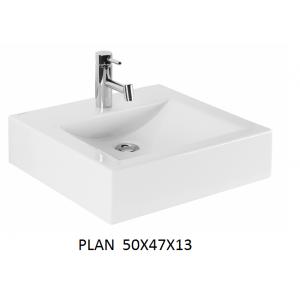Lavabo  Plan sobre mueble  (50x47x13)  UNISAN