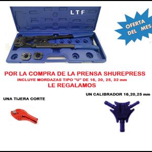 Prensa manual para multicapa desde 16 hasta 32 mm