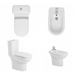 Conjunto movilidad reducida (inodoro / bide) Proget confort