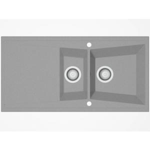 Fregadero sintetico  KUMA ref:305 POALGI  1000x510