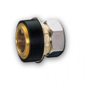 Racor unión para tubo fluxor inodoro