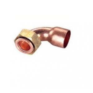 """Curva cobre racor acodada  h - h  22x3/4"""""""