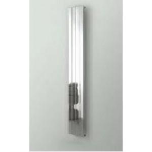 Radiador vertical Lugano cromo 181x30