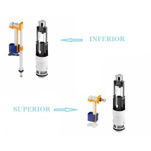 Recambio conjunto mecanismo doble descarga  cisterna Alfa Plus  UNISAN