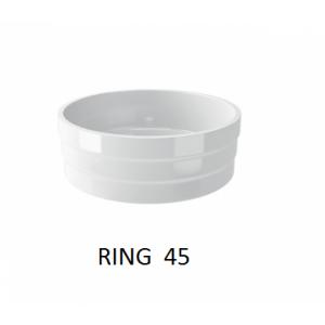 Lavabo  Ring sobre mueble o encimera (450x150) UNISAN