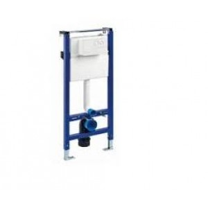 conjunto soporte empotrado con placa, soporte bide, pulsador cromo, tapa bide nau ( NAU )