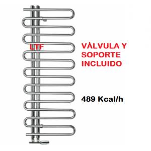 Radiador de calefacción Sicilia cromo 1177 x 500 cm,