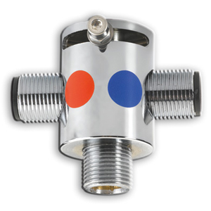 Valvula mezcladora manual
