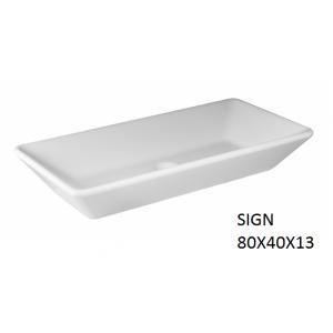 Lavabo Sign sobre mueble   (800x400) UNISAN