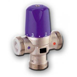 Válvula mezcladora termostática