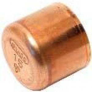 Tapón cobre soldar  Ø  35