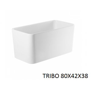 Lavabo Tribo 80x42x38 sobre mueble o encimera  UNISAN