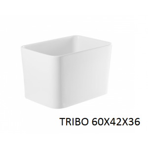Lavabo Tribo 60x42x36 sobre mueble o encimera UNISAN