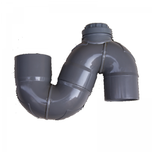 Sifón turco anti-olores vertical PVC encolar desde 75 hasta 315