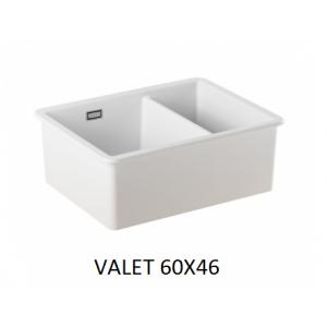 Fregadero cerámico Valet 60x46  Unisan