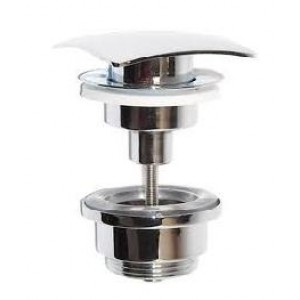 valvula lavabo / bide  clic - clac  cuadrada