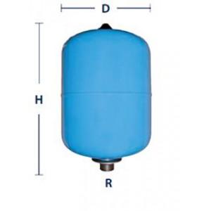 Vaso expansión  de 2 - 5 y 8 litros