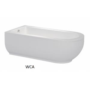 Bañera acrilica W|CA Unisan