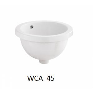Lavabo WCA sobre encimera redondo (450) UNISAN