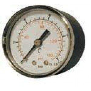 "Manómetro salida posterior  1/4""  de 0-10kg"
