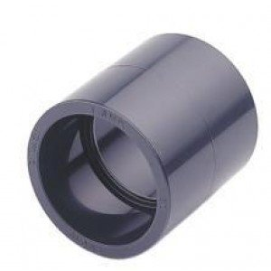 Unión pvc presión encolar D:40mm