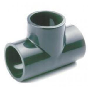 Te pvc presión encolar D:16mm