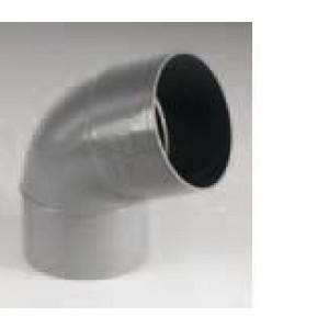 CODO PVC H/M 67º
