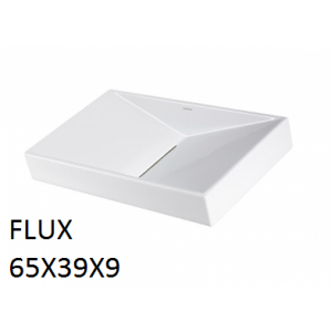 Lavabo Flux sobre mueble (65x39x9) UNISAN