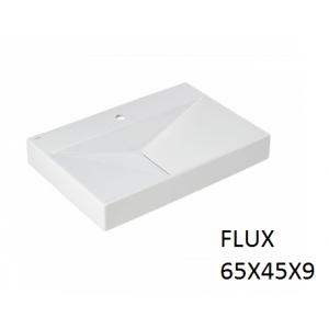 Lavabo Flux sobre mueble (65x45x9) UNISAN