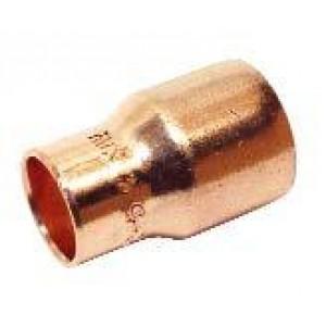Manguito cobre soldar reducido Ø 22 - 12
