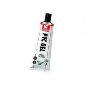 Pegamento PVC gel tubo 125 ml.